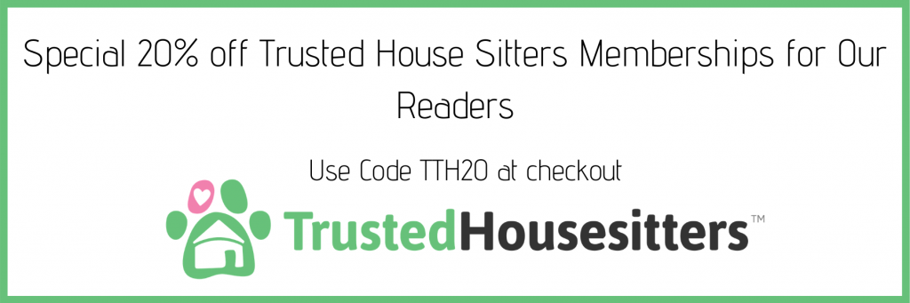 Special 20% Trusted House Sitters Discount