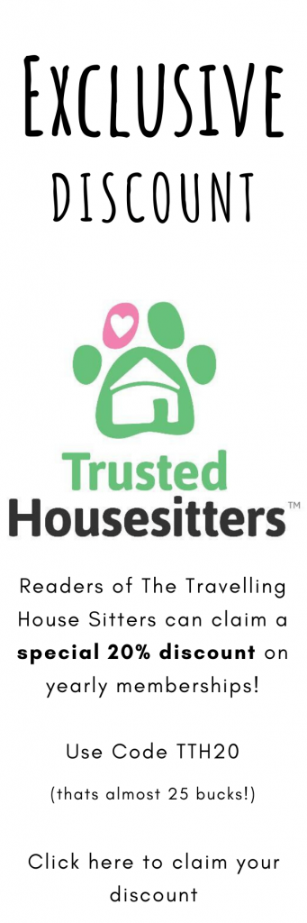 Trusted House Sitters Discount